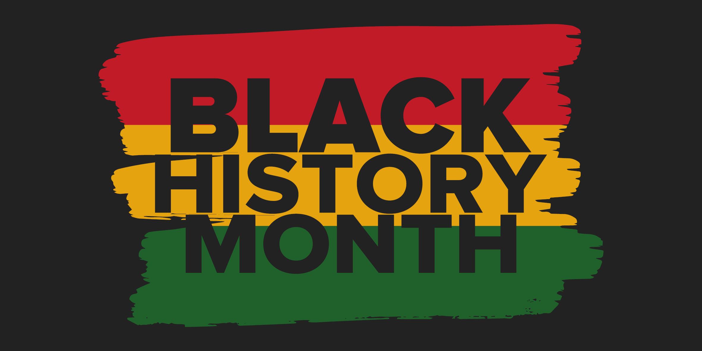 Black History month web banner