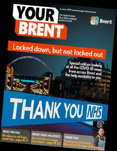 Brent NHS newsletter tribute