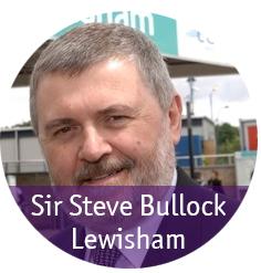 Mayor Sir Steve Bullock