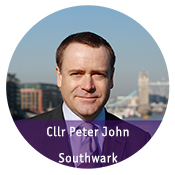 Councillor Peter John