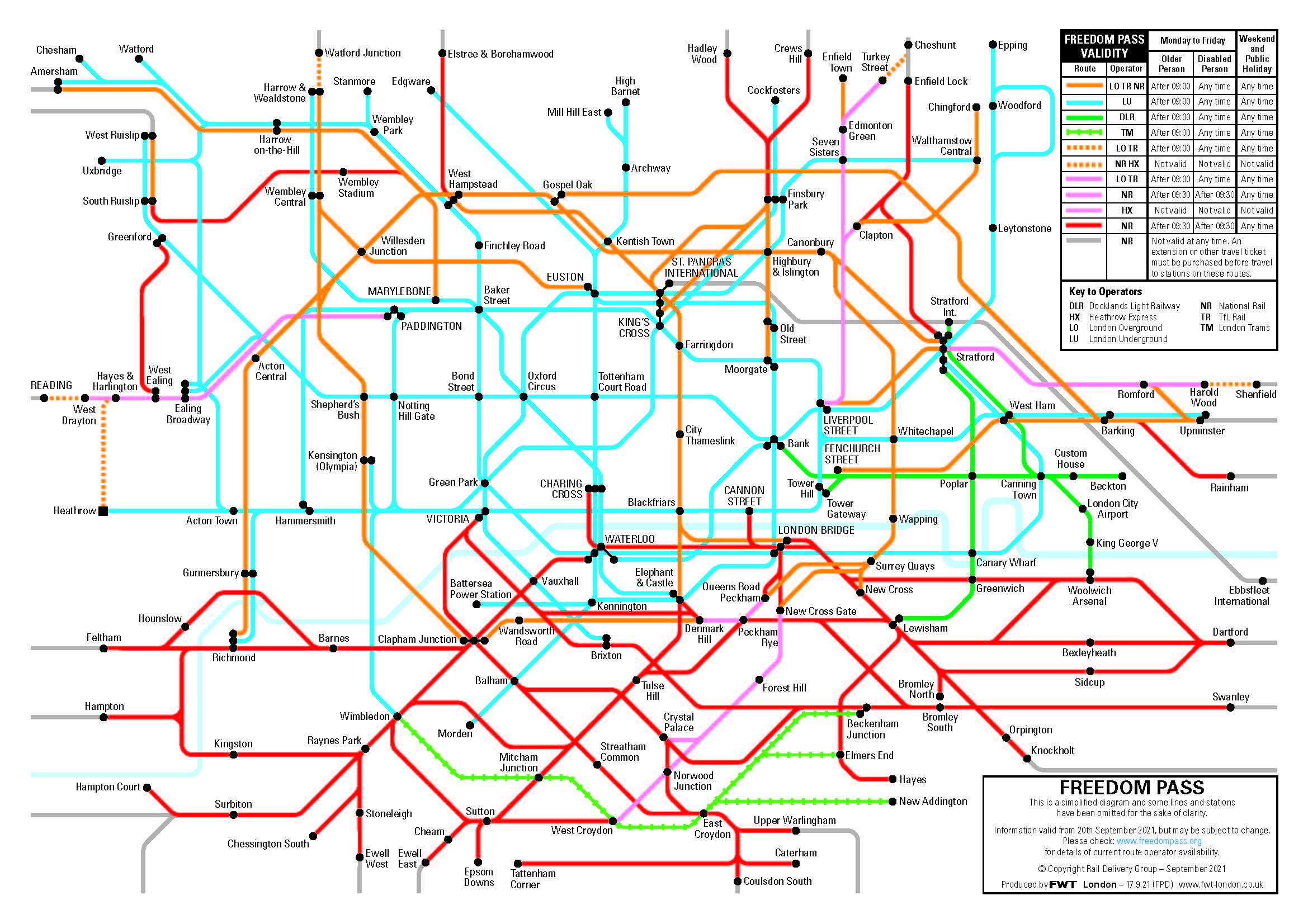 New Tube Map Sep 21