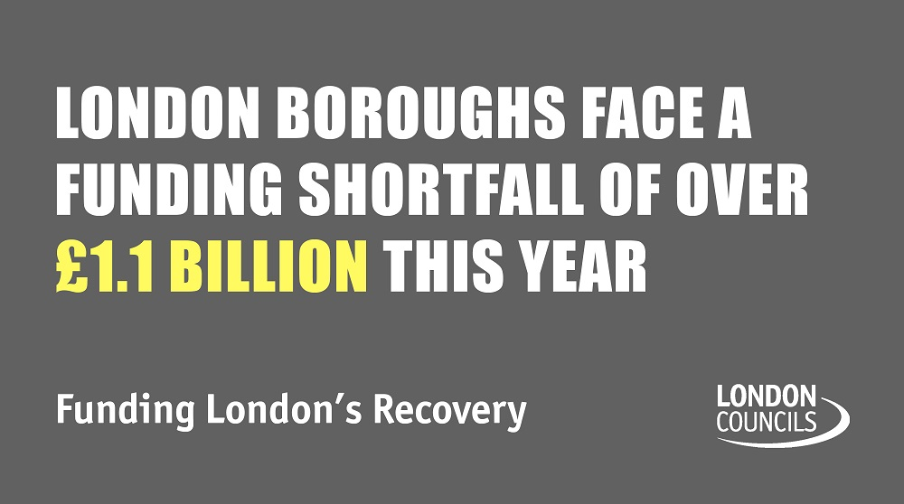 Boroughs face a funding shortfall of over £1.1 Billion this year