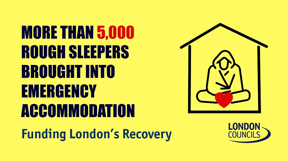 More than 500 rough sleeps brought into emergency accomodation