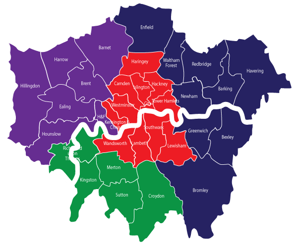 London sub-regional partnerships