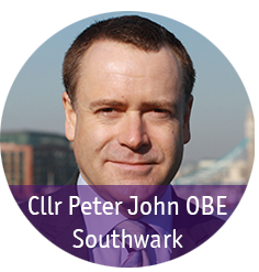 Cllr Peter John headshot