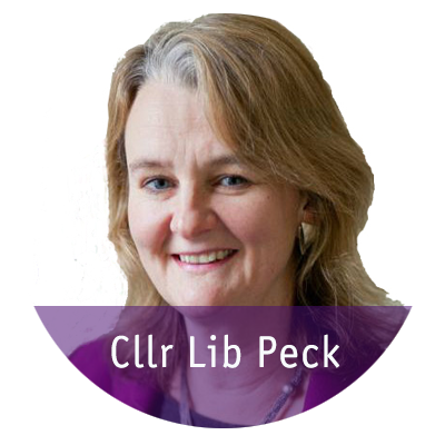 Cllr Lib Peck statement