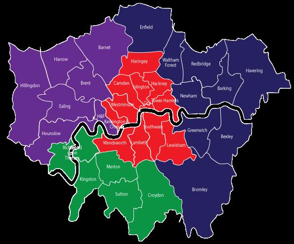 London's economic sub-regional partnerships