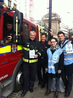 London Fire Brigade pledge to support the City of London's Clean Air Day