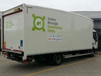 Freight Consolidation Service vehicle