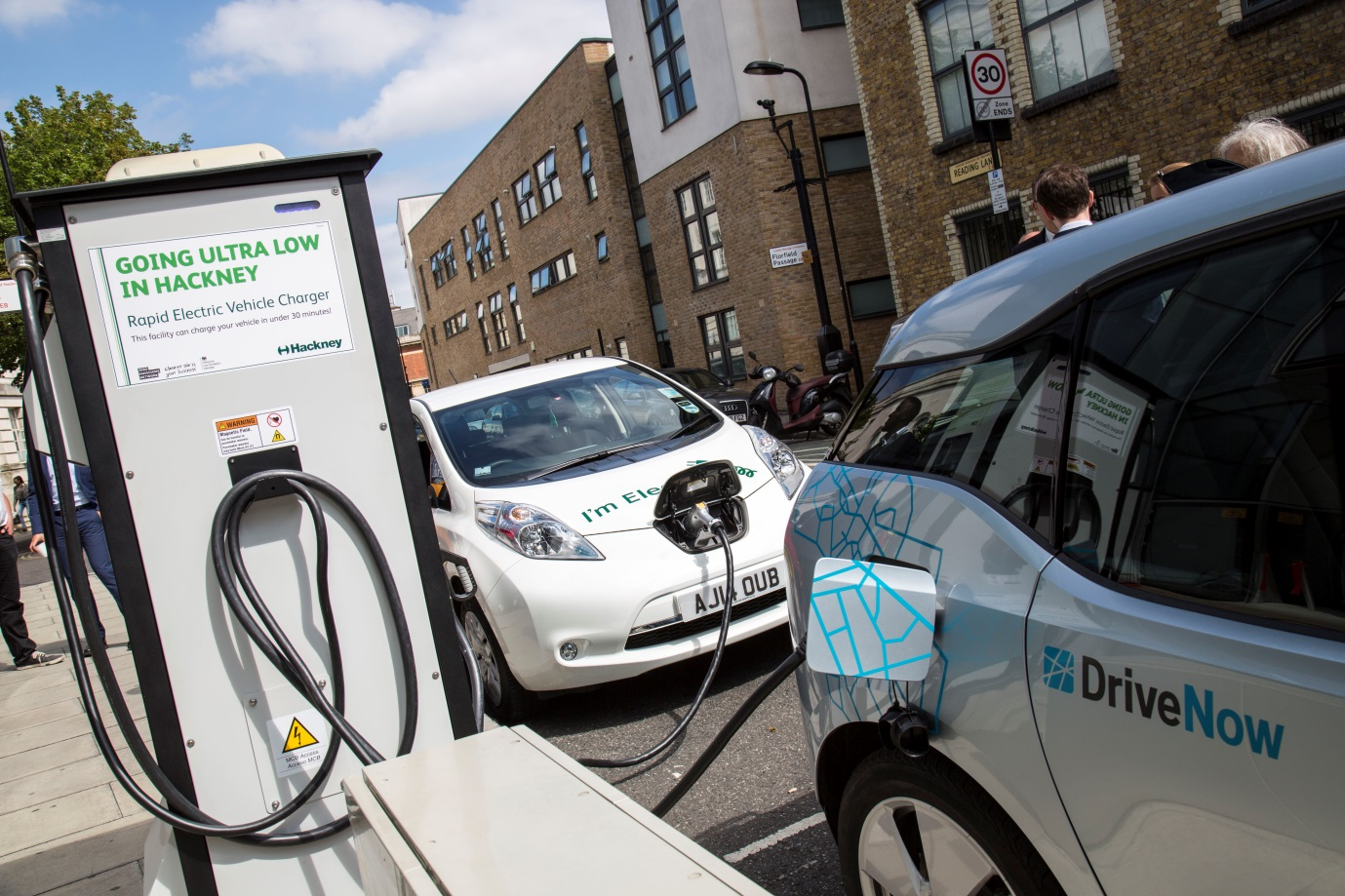 Rapid Electric Vehicle Charging Point in Hackney