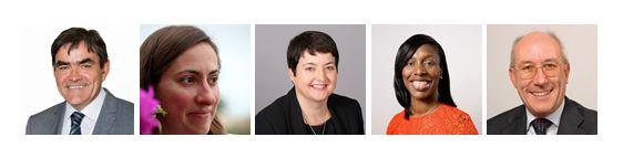 Prof. David Begg, Katharina Winbeck, Val Shawcross CBE, Florence Eshalomi  and Leon Daniels OBE.