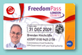Disabled person's Freedom Pass