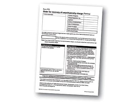 Pcn Appeal Letter Template | Understanding Parking Penalties London Councils