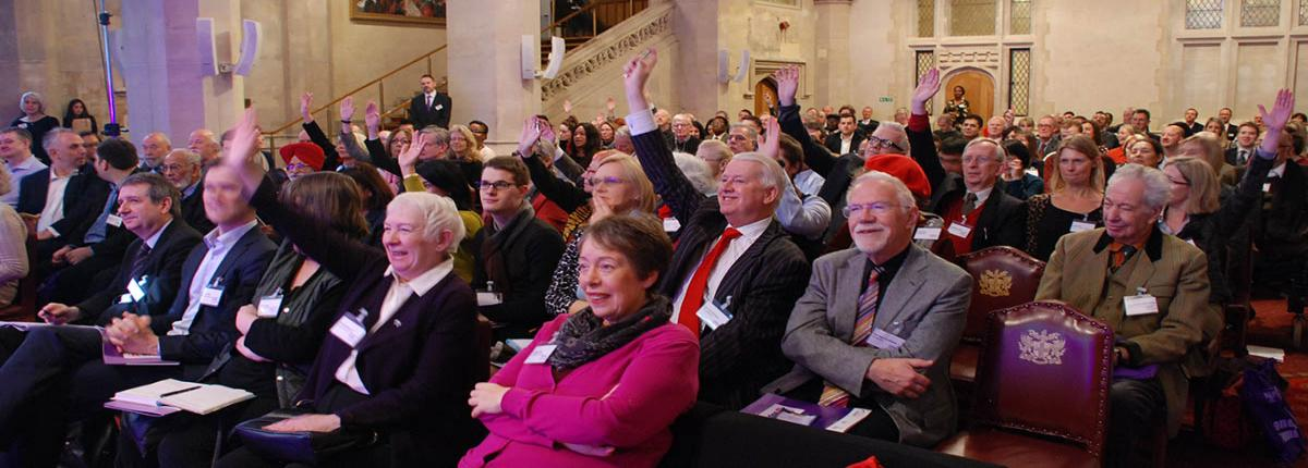 London Councils Summit 2014 delegates