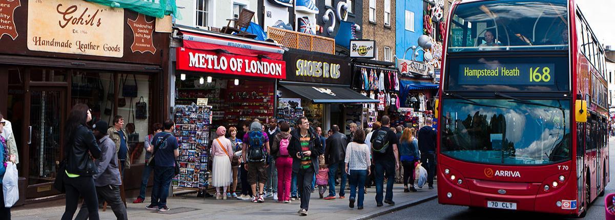Camden street - London small business awards image