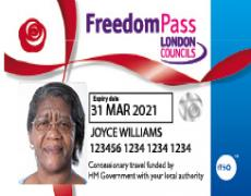 Freedom pass - Joyce Williams