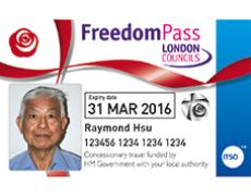 Freedom Pass card
