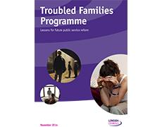 Troubled families report front cover