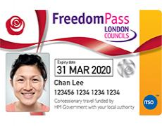 Disabled persons Freedom Pass