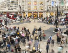 A picture of Oxford Circus
