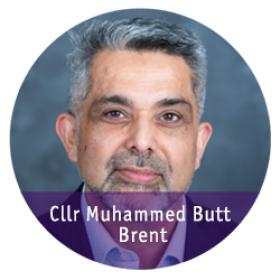 Cllr Muhammed Butt 2018
