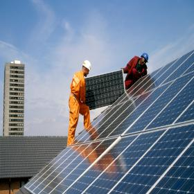 London solar panel installation