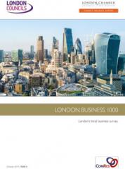 2019 London Business 1000 Survey cover image